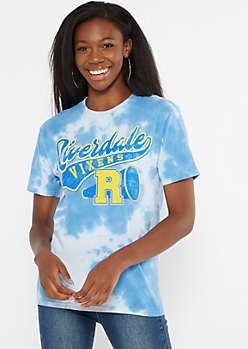 Blue Tie Dye Riverdale Vixens Graphic Tee