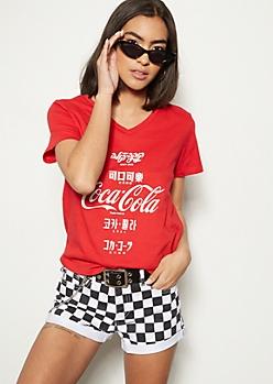 Red Kanji Coke Graphic Tee
