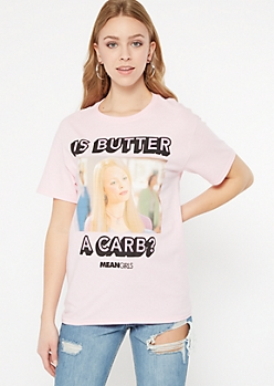 Pink Mean Girls Graphic Tee