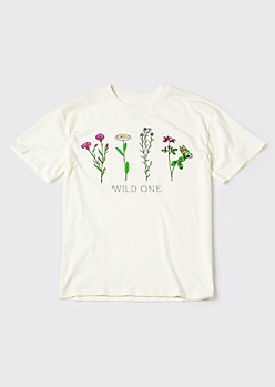 Recycled Wild One Graphic Tee