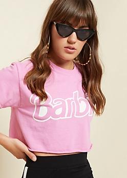Fuchsia Barbie Crop Top