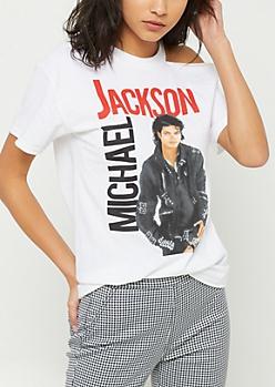 Michael Jackson One Shoulder Tee