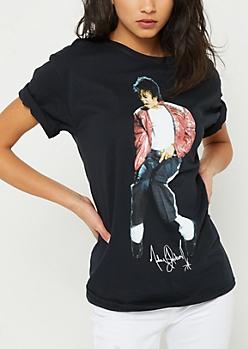 Michael Jackson Red Jacket Tee