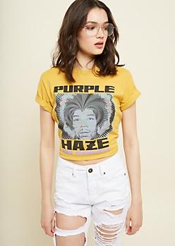 Mustard Purple Haze Tee
