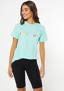 Mint Friends Logo Graphic Tee