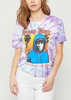Tie Dye Long Beach Snoop Dogg Tee