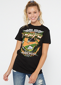 Black Tempo Racing Graphic Tee