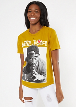 Mustard Tupac Poetic Justice Graphic Tee