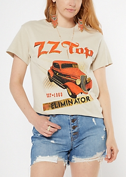 Putty ZZ Top Eliminator Graphic Tee