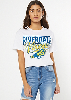 White Riverdale Vixens Graphic Tee