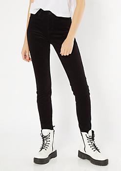 YMI Black Corduroy Skinny Jeans
