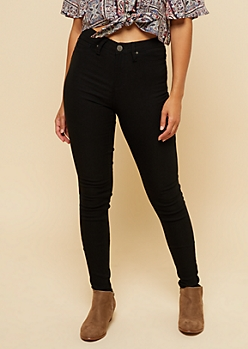 YMI Black High Waisted Slimming Skinny Jeans