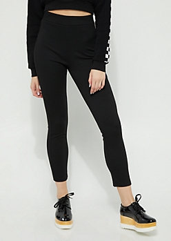 Black High Rise Pants