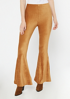 Camel Super Soft Corduroy Flare Pants