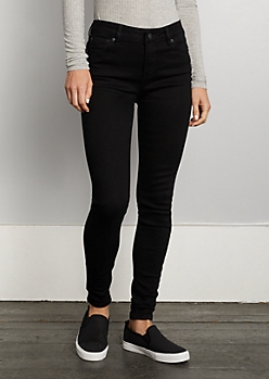 Black High Rise Jegging in Regular