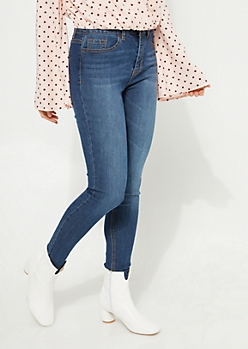 Dark Wash Xtra High Rise Soft Denim Jeggings