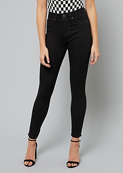 YMI Wanna Betta Butt Black High Waisted Skinny Jeans