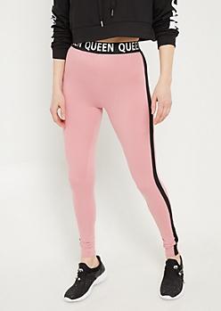 Pink Super Soft Queen Leggings