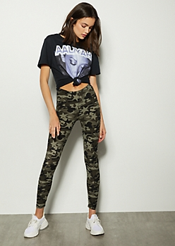 Camo Star Print Super Soft Leggings