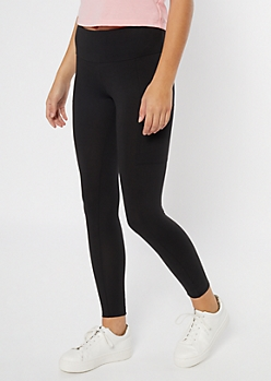 Black Vibes Cell Phone Pocket Leggings