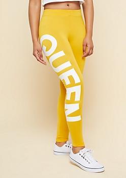 Yellow Super Soft Queen Leggings