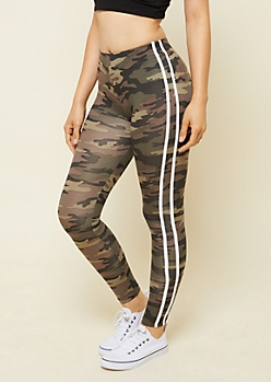 Camo Print High Waisted Super Soft Leggings