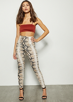 Snakeskin High Waisted Super Soft Leggings