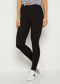 Black Super Soft High Waisted Leggings
