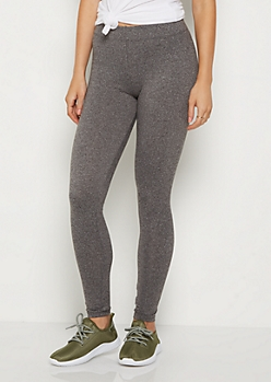 Charcoal Gray Super Soft High Waisted Leggings