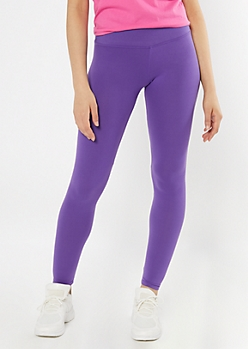 Purple High Rise Super Soft Leggings