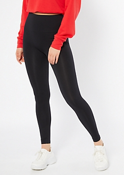 Black Tummy Control Leggings