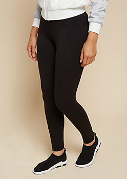 Black Super Soft Basic High Waisted Leggings