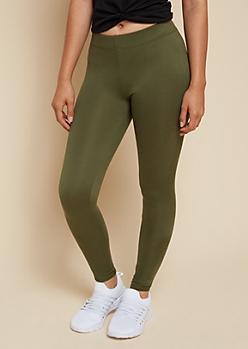 Olive Super Soft Classic High Waisted Leggings