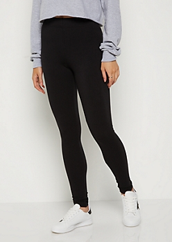 Black High Waisted Athletic Leggings