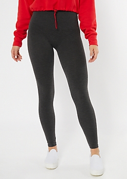 Charcoal High Waisted Essential Leggings