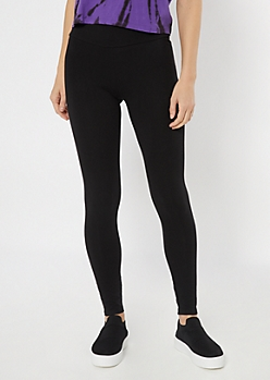 Black Essential High Rise Leggings