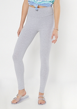 Heather Gray Essential High Rise Leggings