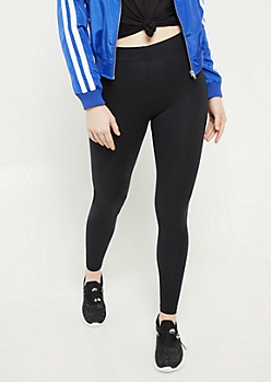 Black Essential Super Soft Mid Rise Leggings