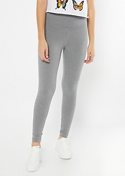 Gray High Waisted Super Soft Favorite Leggings