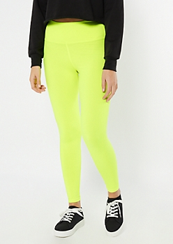 Neon Green High Waisted Super Soft Favorite Leggings