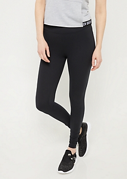Black Super Soft Seamless Leggings