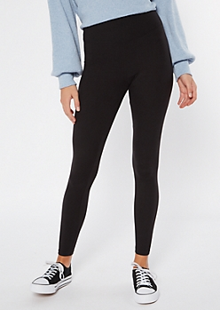 Black High Waisted Super Soft Essential Leggings