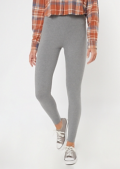 Heather Gray High Waisted Super Soft Essential Leggings