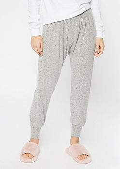 Heather Gray Hacci Joggers