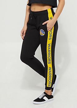 Golden State Warriors Logo Stripe Joggers