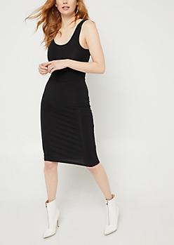 Black Tank Midi Dress