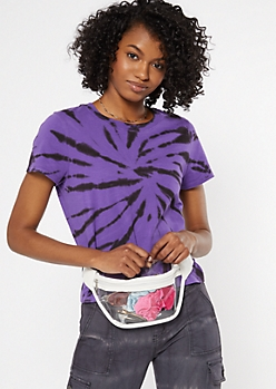 White Clear Fanny Pack
