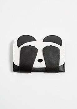 Black & White Panda Critter Wallet