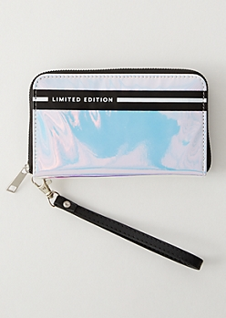 Iridescent Striped Limited Edition Wallet
