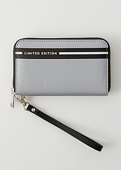 Silver Striped Limited Edition Wallet